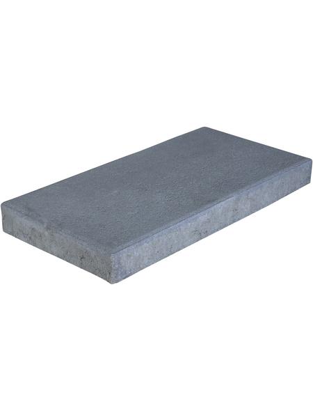 EHL Terrassenplatte »Gehwegplatte«, aus Beton, Kanten: gefast