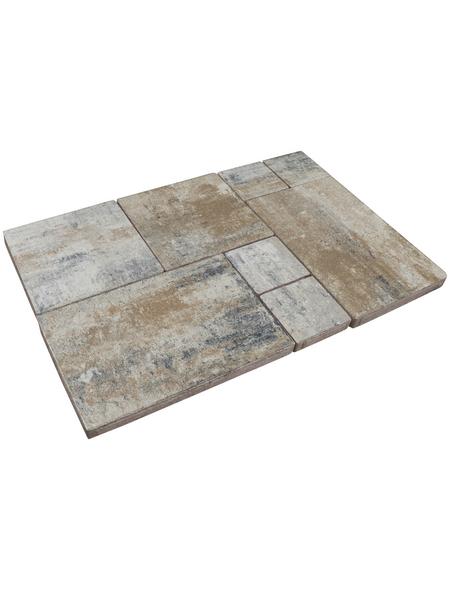 MR. GARDENER Terrassenplatte »Getafe«, aus Beton, Kanten: gefast