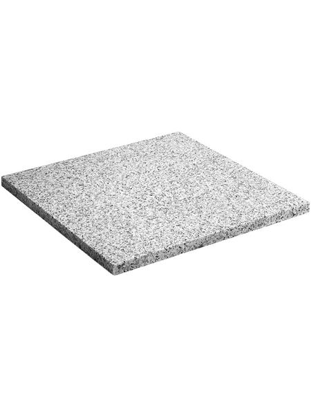 MR. GARDENER Terrassenplatte »Granitplatte«, aus Naturstein, Kanten: rektifiziert