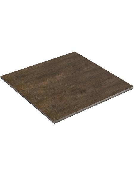 MR. GARDENER Terrassenplatte »Keramik Natural Wood«, aus Keramik, Kanten: rektifiziert