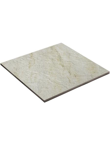 MR. GARDENER Terrassenplatte »Lava«, aus Keramik, glasiert, Kanten: rektifiziert