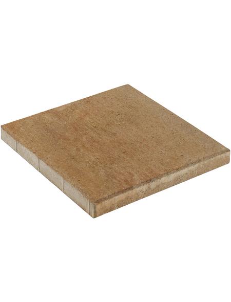 MR. GARDENER Terrassenplatte »Loreta «, aus Beton, Kanten: gefast