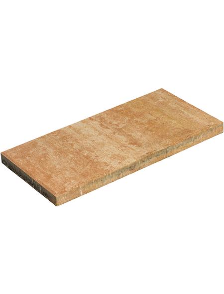 MR. GARDENER Terrassenplatte »Loures«, aus Beton, Kanten: gefast