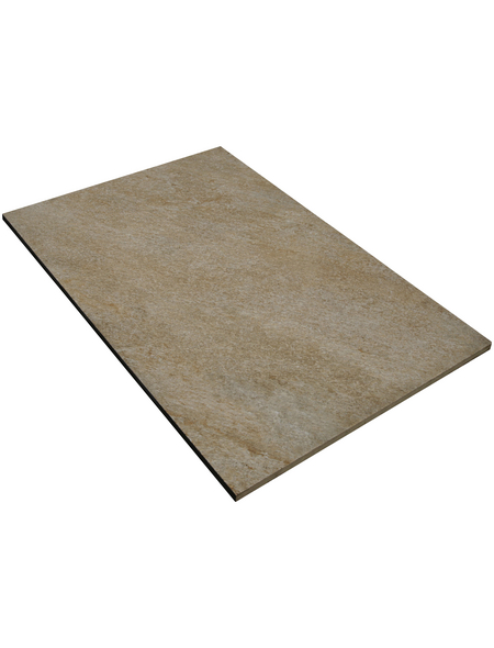 MR. GARDENER Terrassenplatte »Manhatten«, aus Keramik, Kanten: rektifiziert