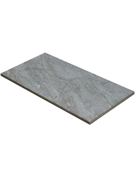 MR. GARDENER Terrassenplatte »Nevada«, aus Keramik, Kanten: Naturkante rund