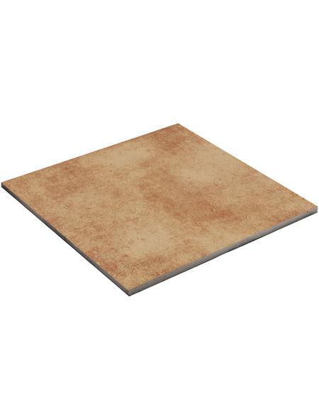 MR. GARDENER Terrassenplatte »Rush Cotto«, aus Keramik, glasiert, Kanten: rektifiziert