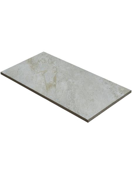 MR. GARDENER Terrassenplatte »Sierra Nevada«, aus Keramik, glasiert, Kanten: Naturkante (rund)