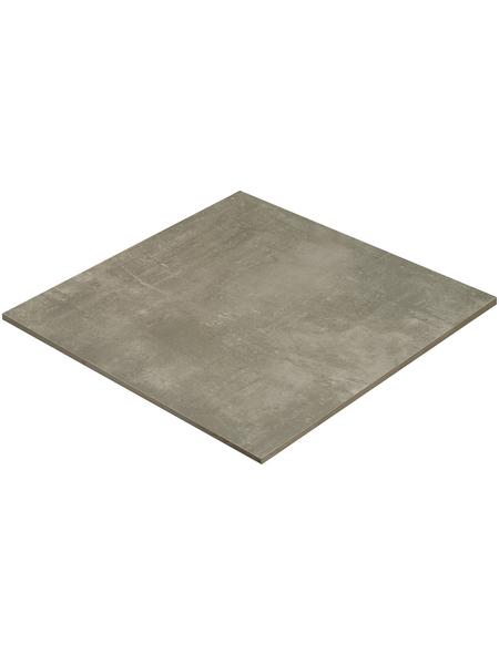 MR. GARDENER Terrassenplatte »Stark«, aus Keramik, glasiert, Kanten: rektifiziert