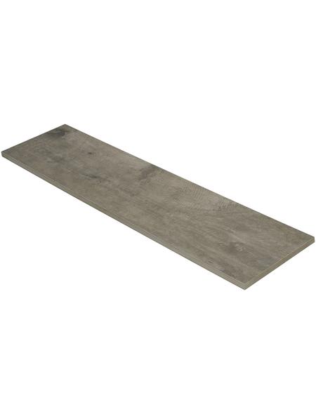 MR. GARDENER Terrassenplatte »Timberwood«, aus Keramik, glasiert, Kanten: rektifiziert