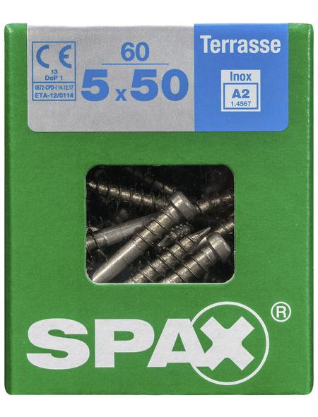 SPAX Terrassenschraube, T-STAR plus, 60 Stk., 5 x 50 mm