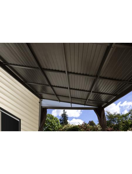 SOJAG Terrassenüberdachung, Breite: 483,5 cm, Dach: Stahl, anthrazit