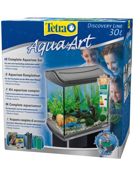 TETRA Tetra AquaArt Aquarium Komplett-Set Anthrazit 30L