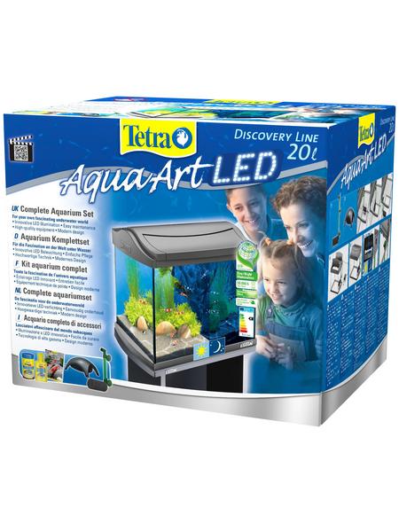 TETRA Tetra AquaArt LED Aquarium Komplett-Set Anthrazit 20L