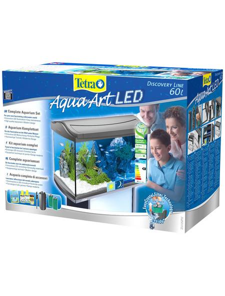 TETRA Tetra AquaArt LED Aquarium Komplett-Set Anthrazit 60L