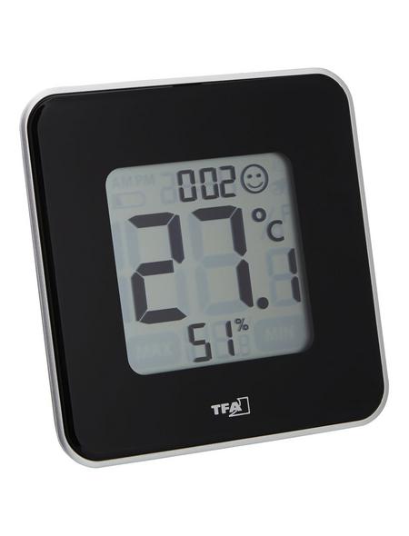 tfa® Thermo-Hygrometer STYLE digital Kunststoff 10,5 x 10,5 x 1,4 cm