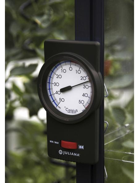 JULIANA Thermometer, BxHxt: 9 x 15 x 3,7 cm, Kunststoff