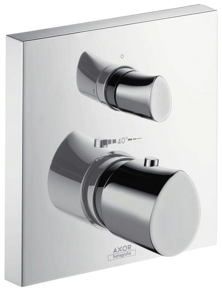 HANSGROHE Thermostat mit Absperr- und Umstellventil »Starck Organic«, Breite: 170 mm, Messing