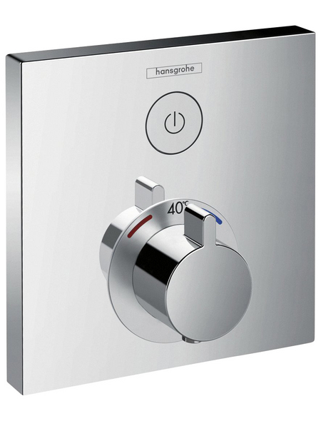 HANSGROHE Thermostat »ShowerSelect«, Breite: 155 mm, Kunststoff/Metall