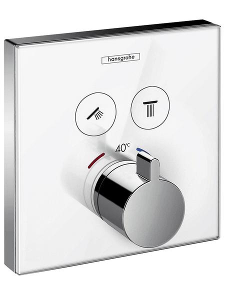 HANSGROHE Thermostat »ShowerSelect«, Breite: 156 mm, Kunststoff/Metall/Sicherheitsglas