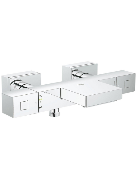 GROHE Thermostat-Wannenbatterie »Grohtherm Cube«, chromfarben