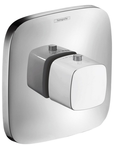 HANSGROHE Thermostatarmatur, Breite: 155 mm, Messing