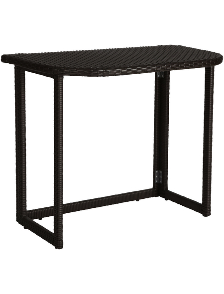 Tisch, BxHxL: 50 x 75 x 90 cm, Tischplatte: Kunststoff