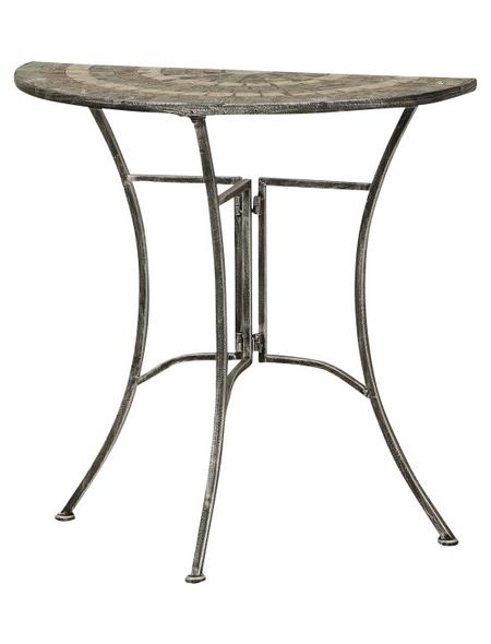 SIENA GARDEN Tisch »Felina«, mit Keramik-Tischplatte, BxTxH: 70 x 35 x 71 cm