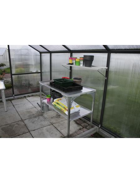KGT Tisch für Gewächshäuser, BxHxt: 121 x 80 x 64 cm, Aluminium