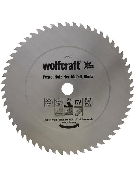 WOLFCRAFT Tisch-Kreissägeblätter  Bohrdurchmesser