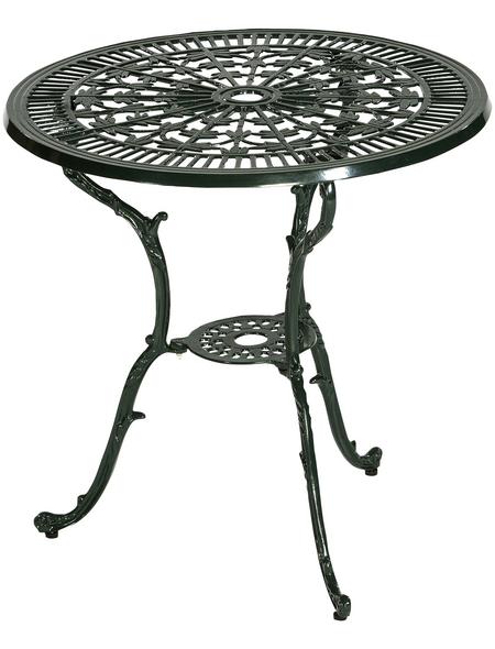 Tisch »Lugano«, mit Aluminium-Tischplatte, Ø x H: 70 x 68 cm