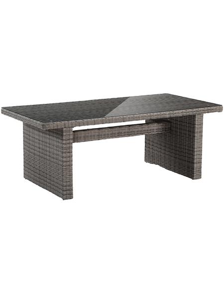 Tisch »Riviera«, BxHxL: 100 x 78 x 201 cm, Tischplatte: Kunststoff