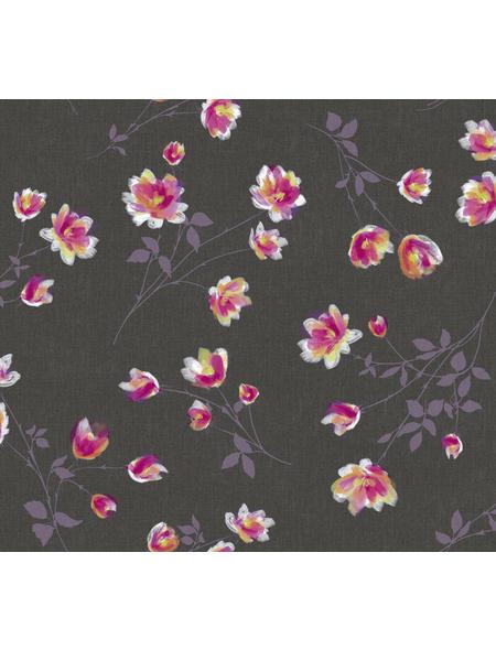 Tischdecke, BxL: 110 x 140 cm, Blumen, bunt