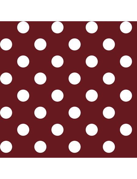 Tischdecke, BxL: 130 x 160 cm, Punkte, rot