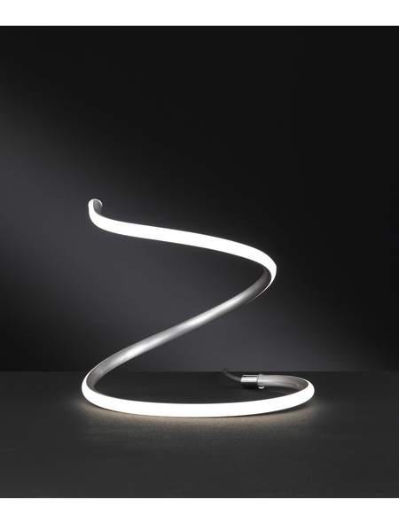wofi® Tischleuchte, 11  W, nickelfarben, Höhe: 30  cm
