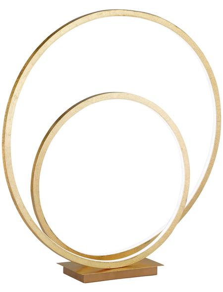 wofi® Tischleuchte, 28  W, goldfarben, Höhe: 50  cm