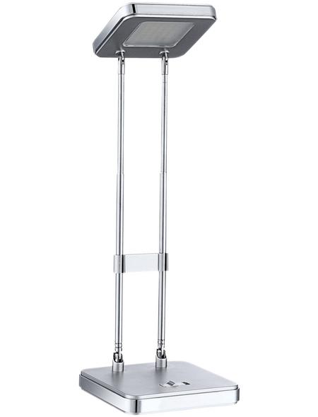 wofi® Tischleuchte, 2,9  W, silberfarben, Höhe: 34  cm