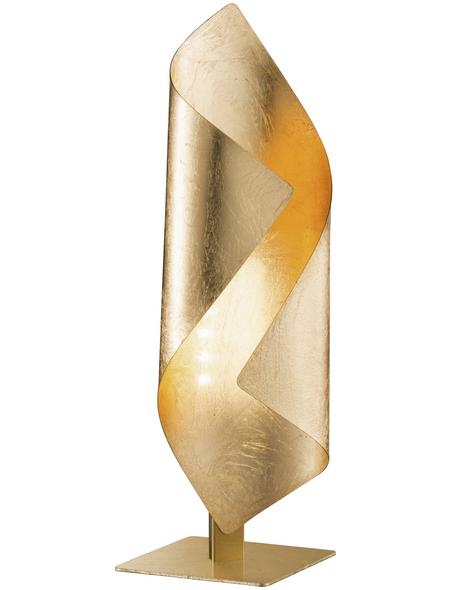 wofi® Tischleuchte, 3  W, goldfarben, Höhe: 33  cm