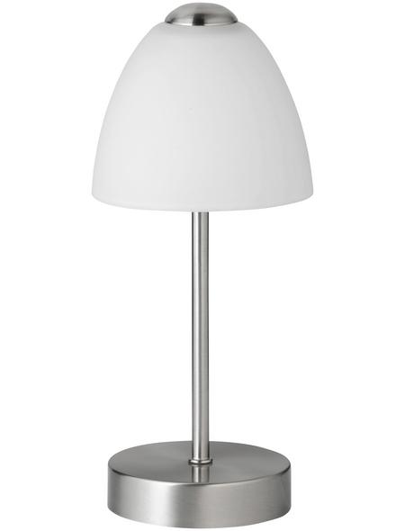 wofi® Tischleuchte, 5  W, nickelfarben, Höhe: 27  cm