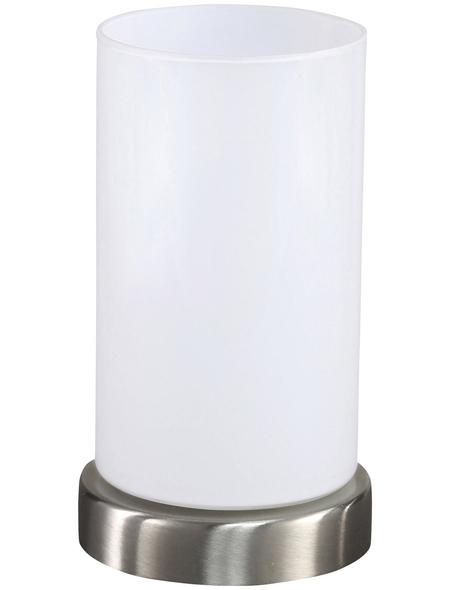 wofi® Tischleuchte, 5,5  W, nickelfarben, Höhe: 17,5  cm