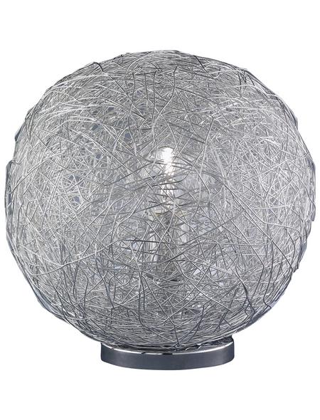 wofi® Tischleuchte, 60  W, chromfarben, Höhe: 32  cm