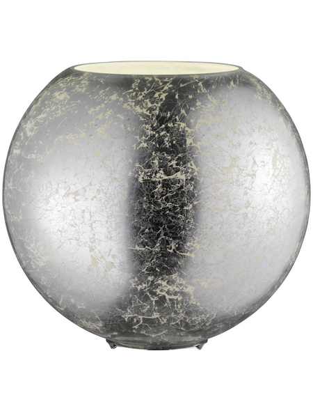 wofi® Tischleuchte, 60  W, silberfarben, Höhe: 27,5  cm
