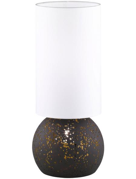 wofi® Tischleuchte, 70  W, braun, Höhe: 50  cm