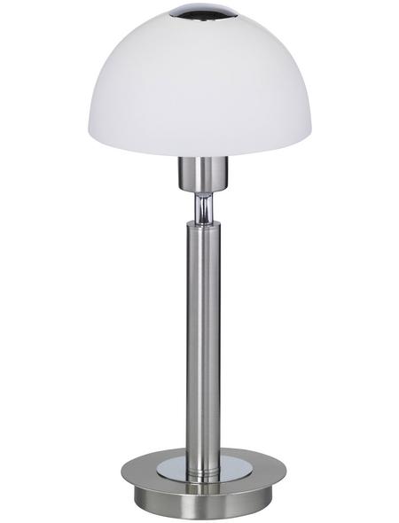 wofi® Tischleuchte »AMBER«, 2,6  W, nickelfarben, Höhe: 29  cm