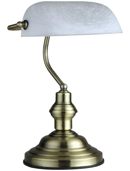 GLOBO LIGHTING Tischleuchte »ANTIQUE«, H: 36 cm, E27 , ohne Leuchtmittel in