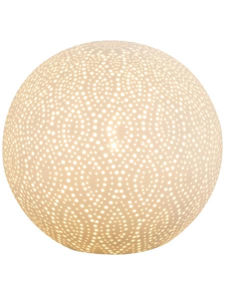 Tischleuchte »ASKJA« Weiß mit 25 W, H: 19 cm, E14 ohne Leuchtmittel