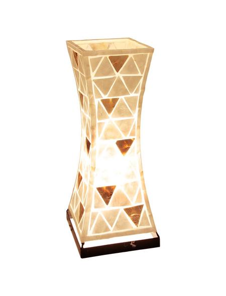GLOBO LIGHTING Tischleuchte »BALI«, H: 51 cm, E27 , ohne Leuchtmittel in