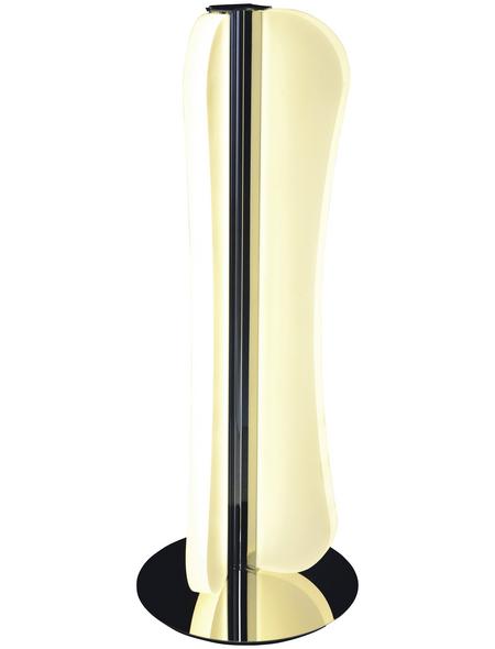 NÄVE Tischleuchte »Bow«, 15  W, chromfarben, Höhe: 39  cm