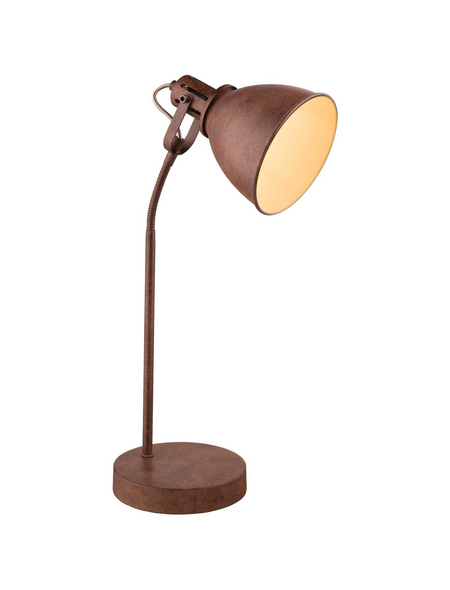 Tischleuchte »GIORGIO« rostfarben mit 40 W, H: 55 cm, E14 ohne Leuchtmittel