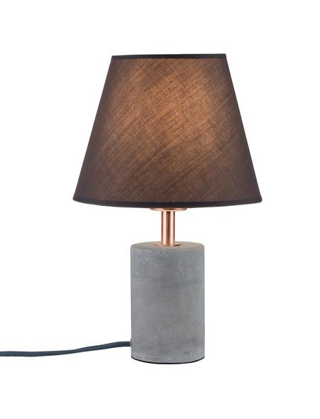 PAULMANN Tischleuchte grau/kupferfarben mit 20 W, H: 34 cm, E27 ohne Leuchtmittel