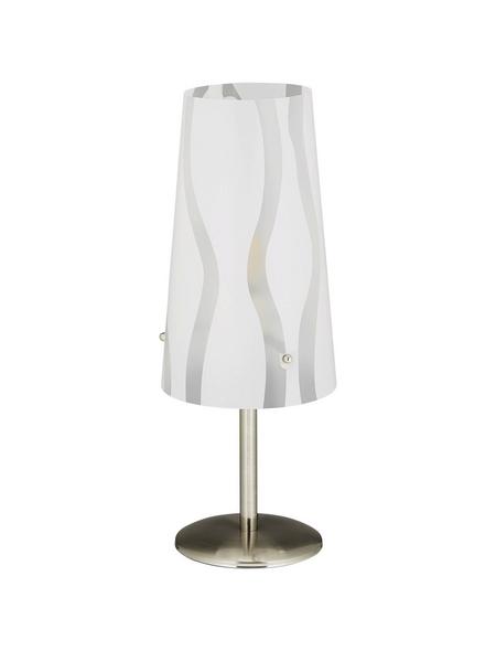 BRILLIANT Tischleuchte »Isi« Weiß mit 40 W, Schirm-Ø x H: 13 x 36 cm, E14 ohne Leuchtmittel